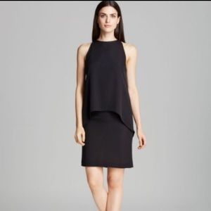 Theory Lyall Dress in Double Georgette Silk 0